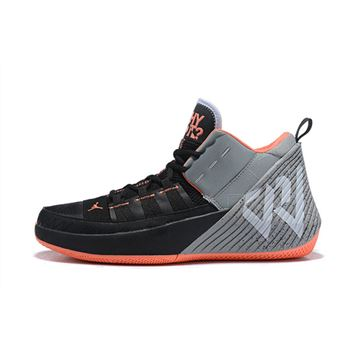 Jordan Why Not Zer0.1 Chaos Black/Total Orange-Grey