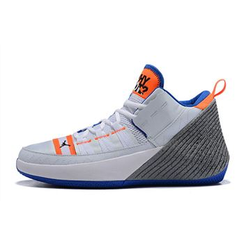 Jordan Why Not Zer0.1 Chaos White/Orange-Blue-Grey