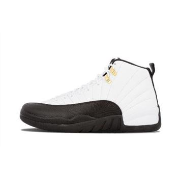 Air Jordan 12 Taxi White/Black-Taxi-Varsity Red 130690-125