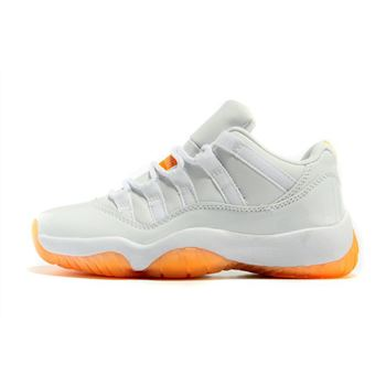 Men's Air Jordan 11 Retro Low Citrus White/White-Citrus 580521-139