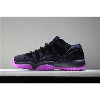 2018 Air Jordan 11 Low Think 1 Black/Fuchsia Blast AR5149-005
