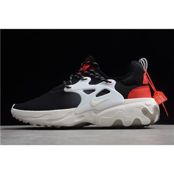 Nike Presto React Black Red White AV2605-002