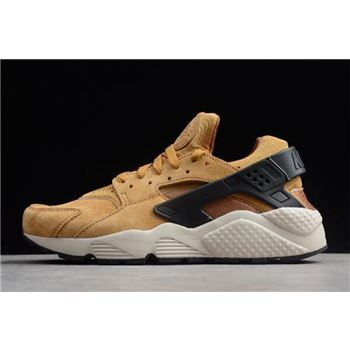 "Nike Air Huarache Run Premium ""Wheat"" Wheat/Black-Light Bone-Ale Bro 704830-700"