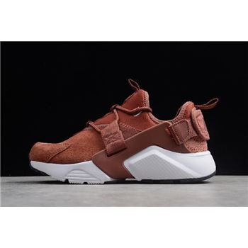 Women's Nike Air Huarache City Low Premium Burnt Orange AO3140-200
