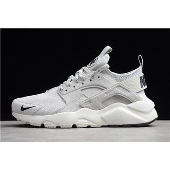 Nike Air Huarache Run Ultra Suede ID Grey/Black-White 829669-101