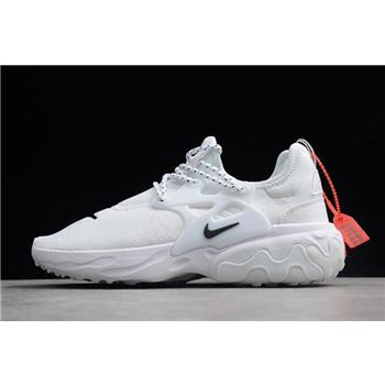 "Nike Presto React ""Triple White"" AV2605-100"