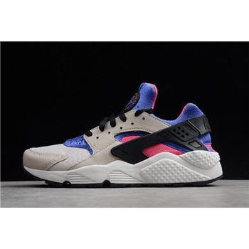 "Nike Air Huarache ""Unisex"" Desert Sand/Persian Violet Running Shoes 318429-056"