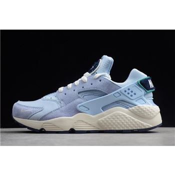 Nike Air Huarache Run Premium Royal Tint/Sail-Blue Void-Neptune Green 704830-403