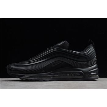 "Nike Air Max 97 Ultra '17 Premium ""Triple Black"" Black/Anthracite AH7581-002"