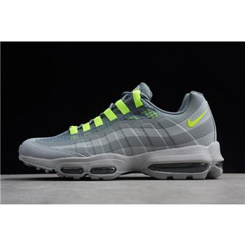 Nike Air Max 95 Ultra SE Wolf Grey/Volt-Cool Grey AO9566-002