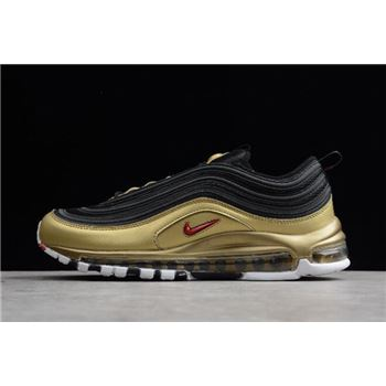 Nike Air Max 97 QS Black/Metallic Gold-Varsity Red-White AT5458-002