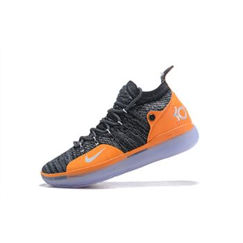 "Nike KD 11 ""Texas"" PE Black/Burnt Orange-White"