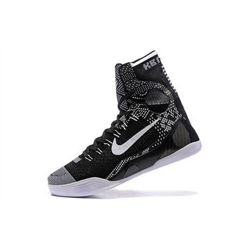 "Nike Kobe 9 Elite ""BHM"" Black/White 704304-010"