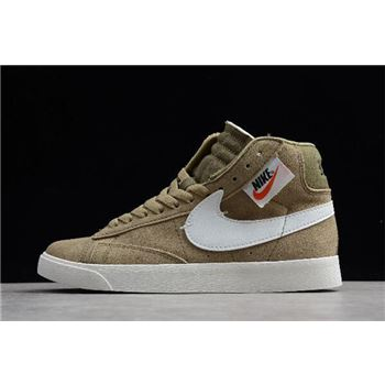 Nike Blazer Mid Rebel XX Black/Summit White-Olive Grey BQ4022-201