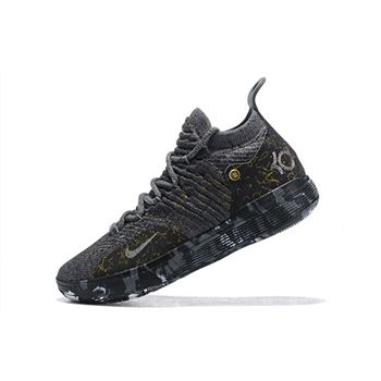 "Nike KD 11 ""Gold Splatter"" Multi-Color/Metallic Gold AO2604-901"