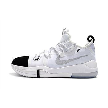 """Kobe Bryant Nike Kobe AD """"Black Toe"""" White/Black AR5515-100"""