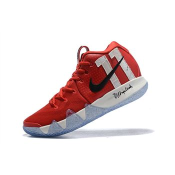 "Nike Kyrie 4 ""11"" University Red/Black-White"