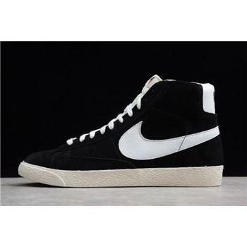 Nike Blazer Mid Suede Vintage Black/White 538282-040