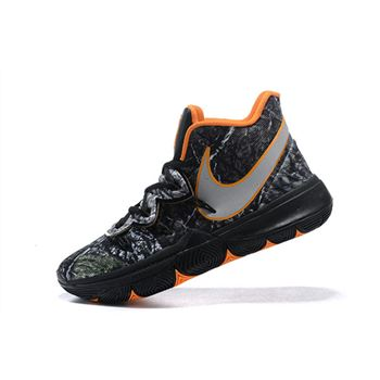 "Nike Kyrie 5 ""Taco"" PE Wood Camo Black/Orange AO2918-902"