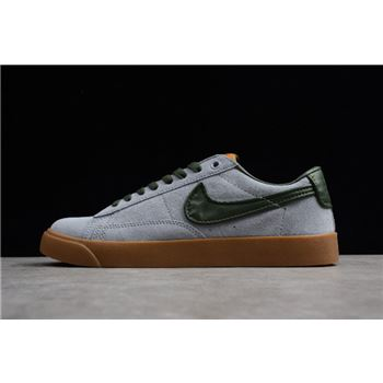 Nike Blazer Low GT Gun Smoke/Black Spruce-Gum Light Brown 704939-018