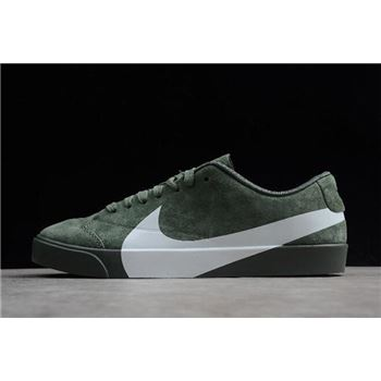 "Nike Blazer City Low XS ""Clay Green"" AV2253-300"