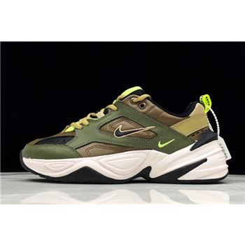 Nike M2K Tekno Medium Olive/Black-Yukon Brown AO3108-201