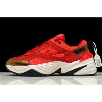 "Nike M2K Tekno ""Red Suede"" University Red/Phanton-Bright Crimson AV7030-600"
