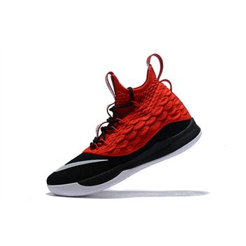 Nike LeBron 15.5 Black/University Red-White