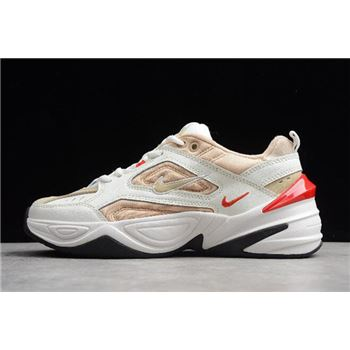 Nike M2K Tekno Summit White/Champagne-Red AO3108-102