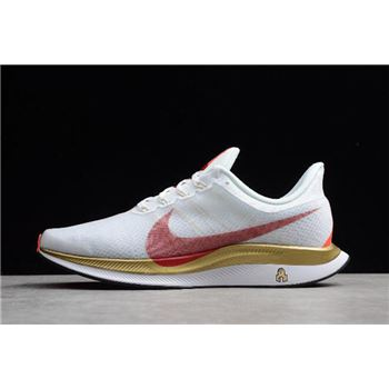 Nike Air Zoom Pegasus 35 Turbo 2.0 White/Red-Gold BV6657-176
