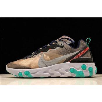 "Nike React Element 87 ""Neptune Green"" AQ1090-005"