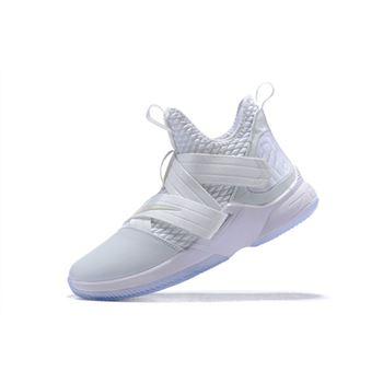 "Nike LeBron Soldier 12 ""Triple White"""