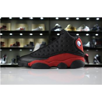 New Air Jordan 13 Retro Bred Black/True Red-White For Sale