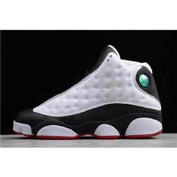 New nike air max wavy foamposite women black shoes3 Retro He Got Game White/Black-True Red 309259-104