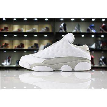 New nike air max wavy foamposite women black shoes3 Retro Low Pure Money White/White-Metallic Silver 310810-100