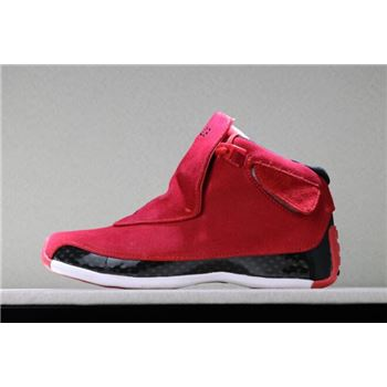 2018 Air Jordan 18 Toro Gym Red/Black AA2494-601