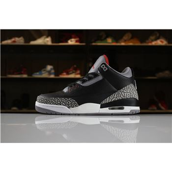 Air Jordan 3 Retro OG Black Cement 2018 854262-001