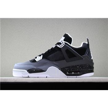 Air Jordan 4 Retro Fear Black/White-Cool Grey-Pure Platinum 626969-030