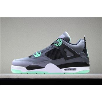 Air Jordan 4 Retro Green Glow Dark Grey/Green Glow-Cement Grey-Black 308497-033