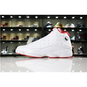 Mens Air Jordan 13 History of Flight White/Metallic Silver-University Red 414571-103