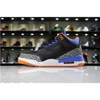Men's Air Jordan 3 Russell Westbrook OKC PE 8580775-015 For Sale