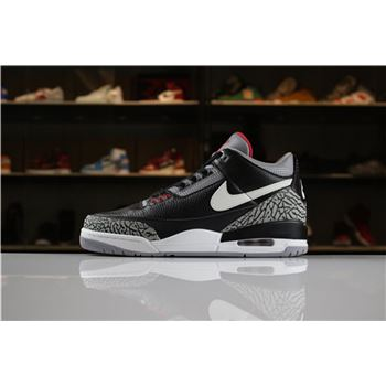 Air Jordan 3 JTH Black Cement AV6683-001 For Sale