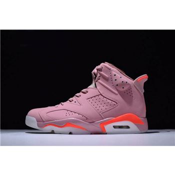 2018 Aleali May x Air Jordan 6 Retro Millennial Pink 384664-031