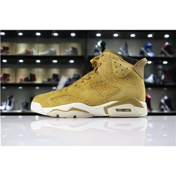 Air Jordan 6 Wheat Golden Harvest/Elemental Gold 384664-705
