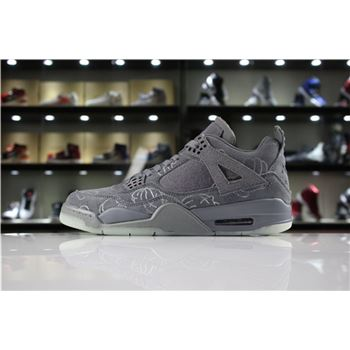 KAWS x Air Jordan 4 Cool Grey 930155-003 For Sale