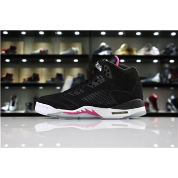 Air Jordan 5 GS mens nike air burst black head blue background