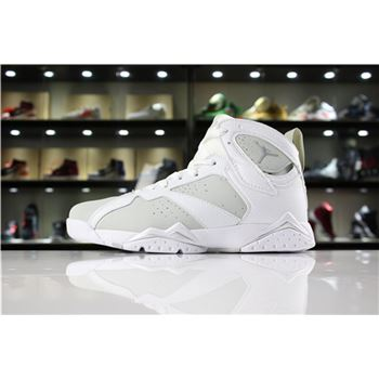 Air Jordan 7 Pure Money White/Metallic Silver-Pure Platinum 304775-120
