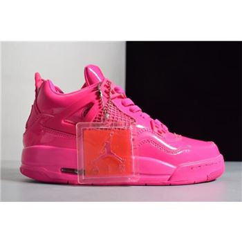 Women's womens white nike cheer shoes size Retro GS 11Lab4 Pink Patent Leather For Sale