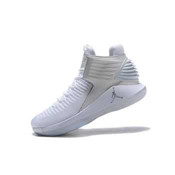 Air Jordan 32 XXXII White/Metallic Silver For Sale