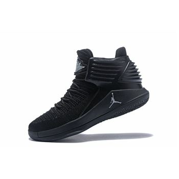 New nike air max poems for kids girls2 All Black Men's Basketball Shoes